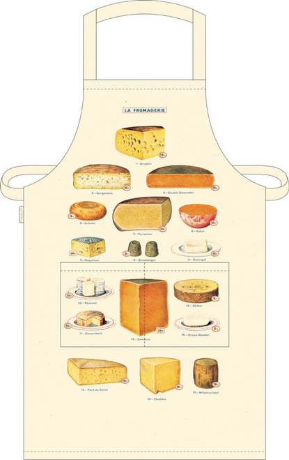 Farmhouse Kitchen Apron La Fromaggerie - Full View