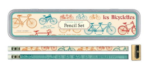 Cavallini Vintage Bicycles Pencil Set - B