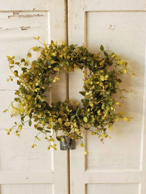 Bog Pimpernel Candle Ring or Wreath -A