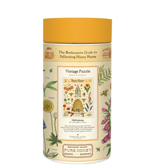 1000-Piece Beekeepers Guide to Pollinating Honey Plants Jigsaw Puzzle