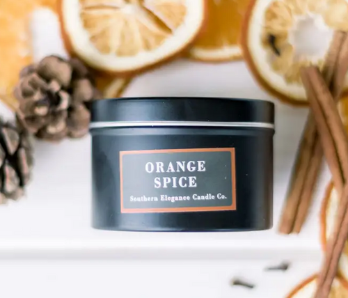 Orange Spice Travel Candle