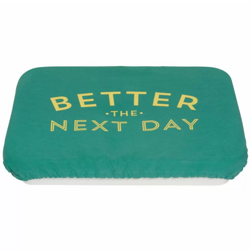 Better the Next Day Rectangular Baking Dish Cloth Cover - B