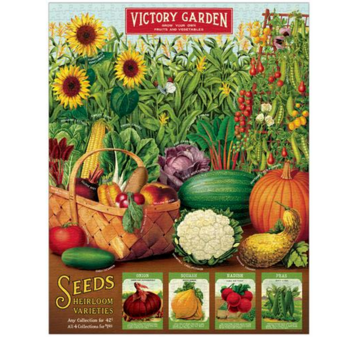 Victory Garden 1000-Piece Jigsaw Puzzle - A