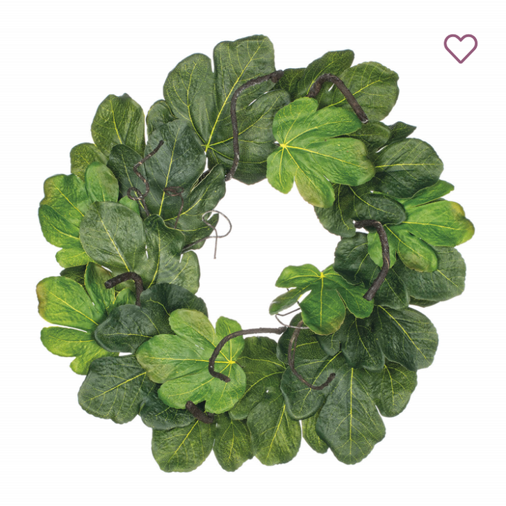 Gorgeous Fig Leaf Accent Ring or Wreath