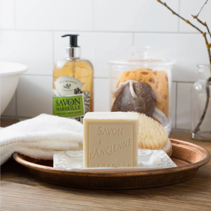 Savon de Marseille 72% Olive Oil Traditional French Artisanal Soap - A