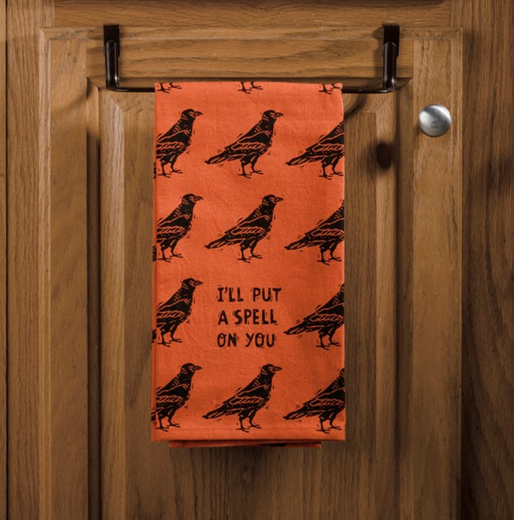 I'll Put a Spell On You Halloween Dish Towel