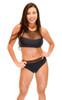 VF-Sport - Bikini, High Neckline Mesh, Two Piece Set