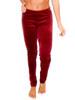 Vivian's Fashions Long Leggings - Soft Velour (Misses and Misses Plus Sizes)