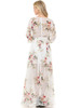Petalroz Dress - Maxi Dress, Long Sleeve