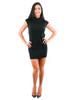 Cowl Neck Sweater - Dress, Sleeveless