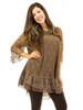 Dress - Lined Full Lace Short Dress