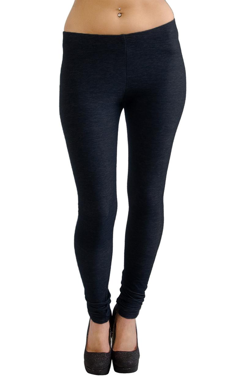 167fe0be33f18 Vivian s Fashions Extra Long Leggings - Knit Denim (Misses Misses ...