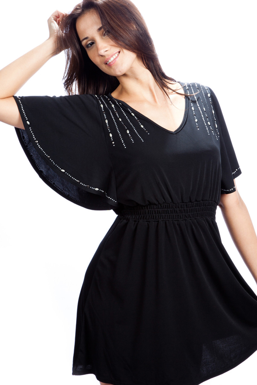 c26569389a Petrol Dress - Hollywood Night Out Dress - Vivian's Fashions