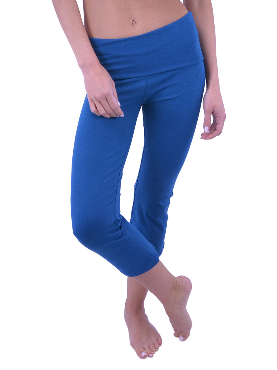 608e17648fa Vivian s Fashions Yoga Pants - Capri (Misses and Misses Plus Sizes ...
