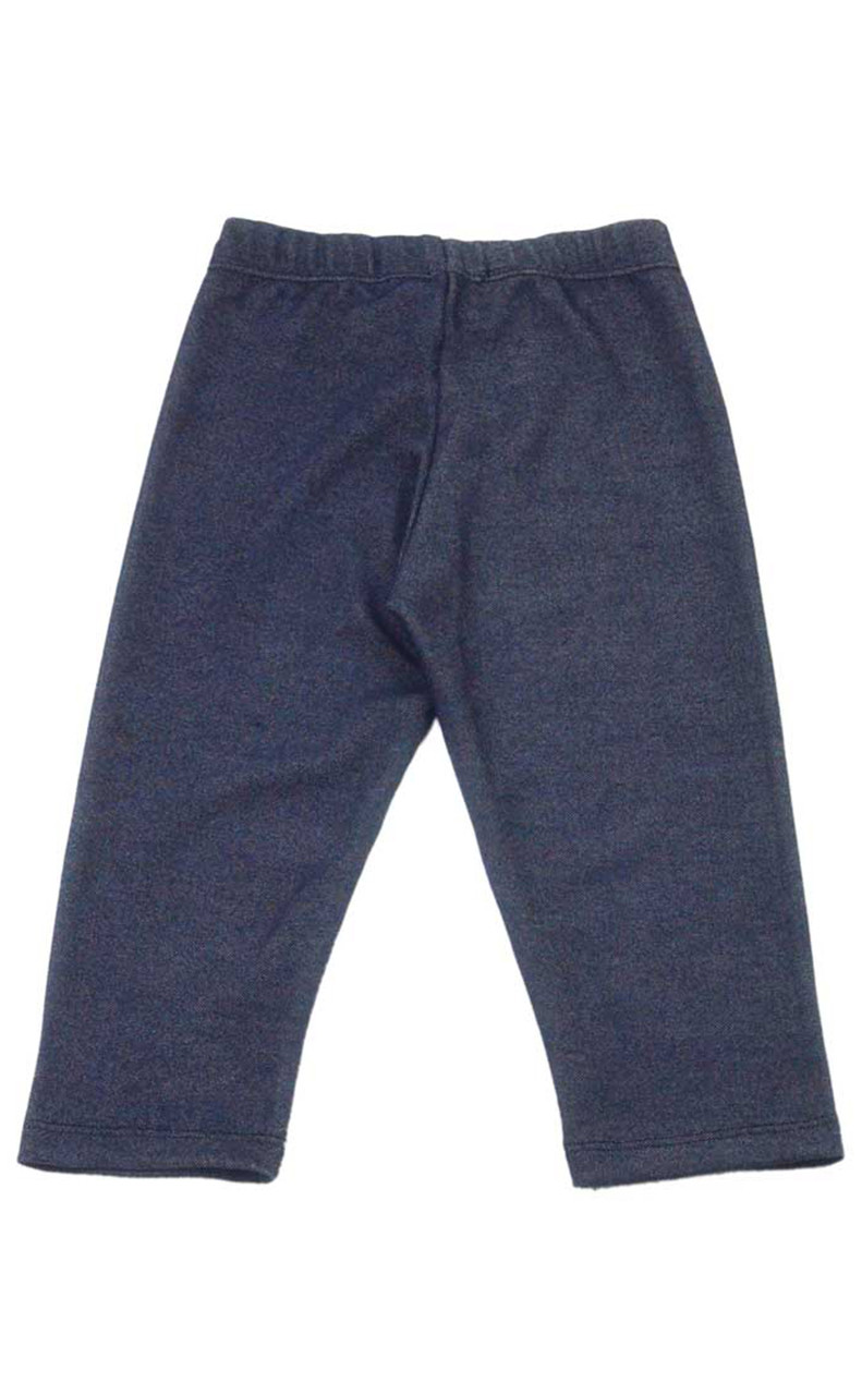 Capri Leggings Baby Girls Knit Denim Vivian S Fashions