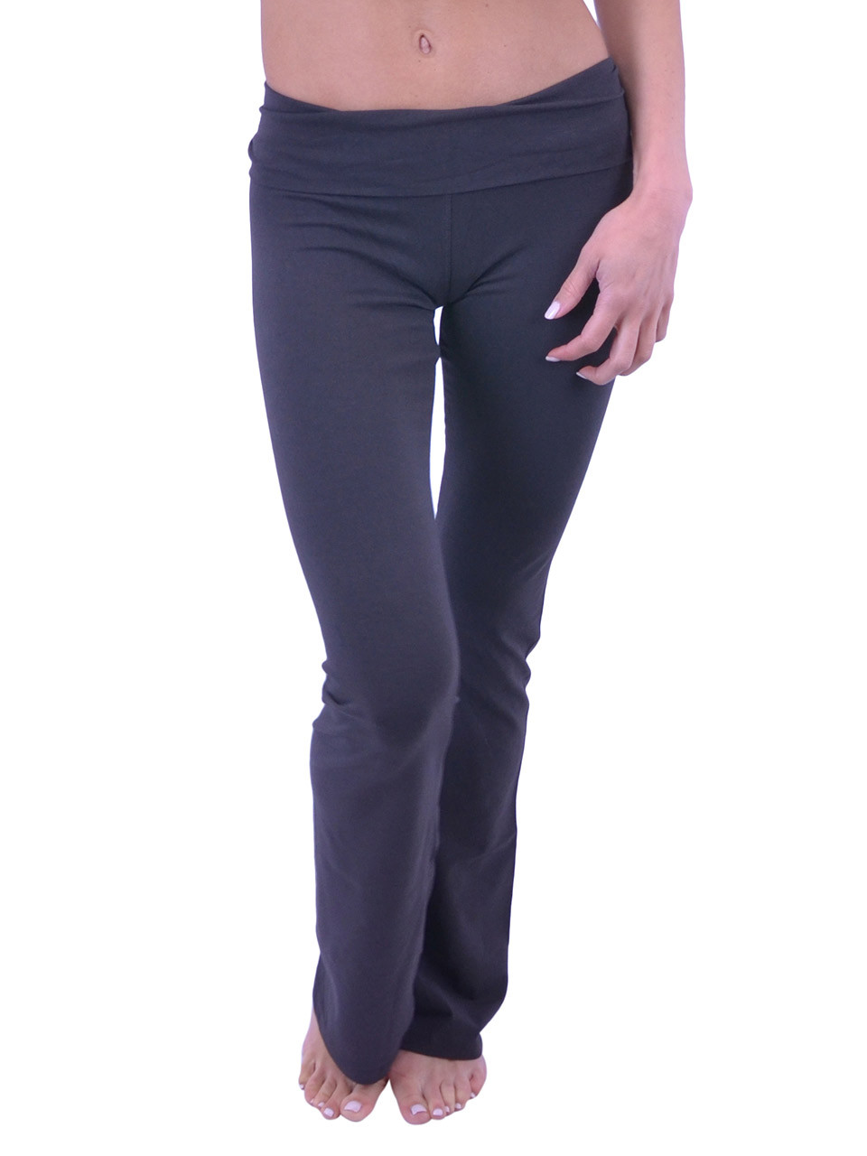 7d66f737a8e Vivian s Fashions Yoga Pants - Full Length (Misses and Misses Plus Sizes) - Vivian s  Fashions