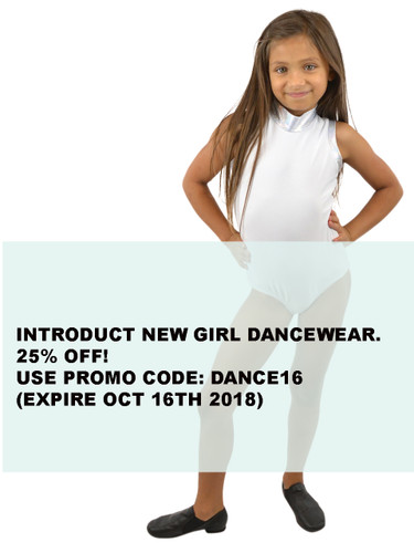 Introducing Our New Girls' Dance-Wear Collection