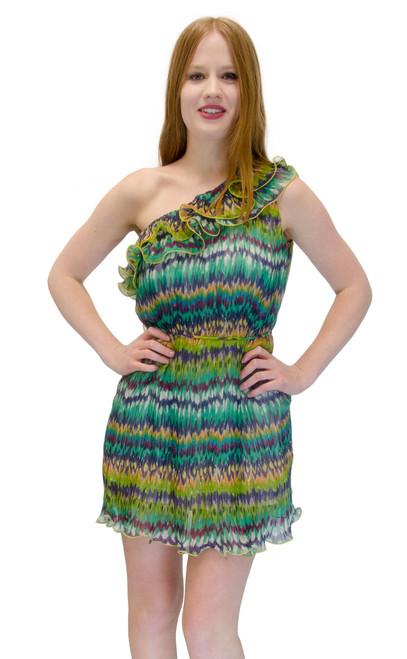 Fringe Upper 2Fer Vivians Fashions Dress