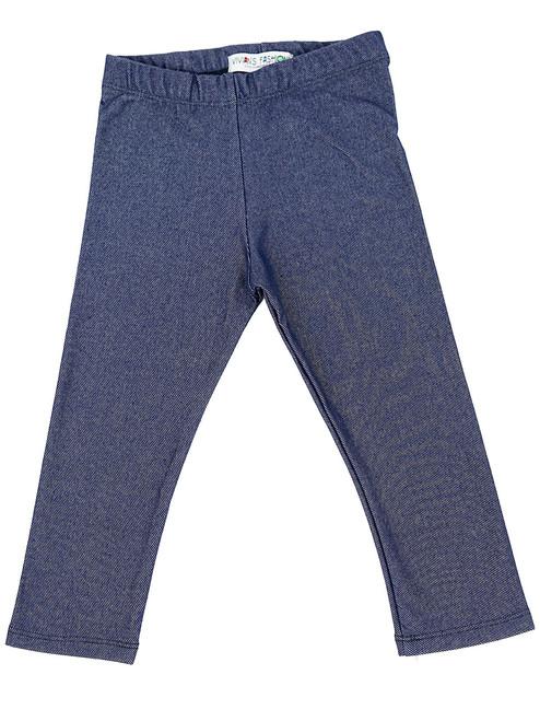 Capri Leggings - Toddler Girls, Knit Denim