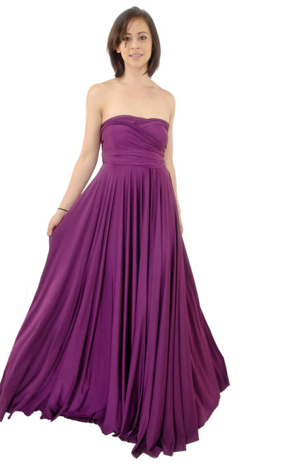 Dress - Twist Wrap, Bridesmaid, Regular and Plus Size