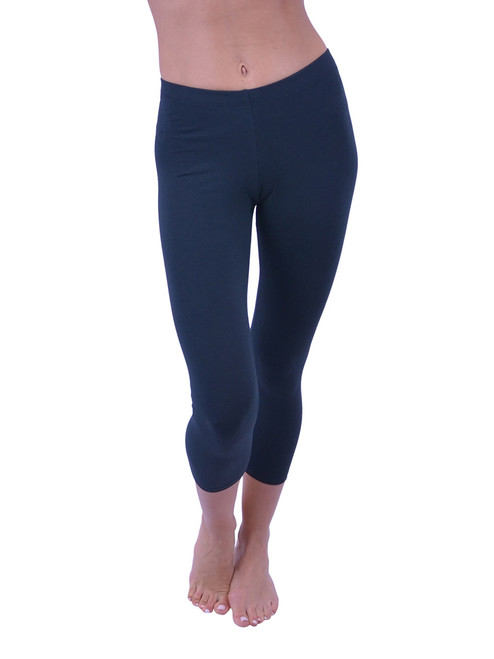 Capri Leggings - Cotton (Junior and Junior Plus Sizes)