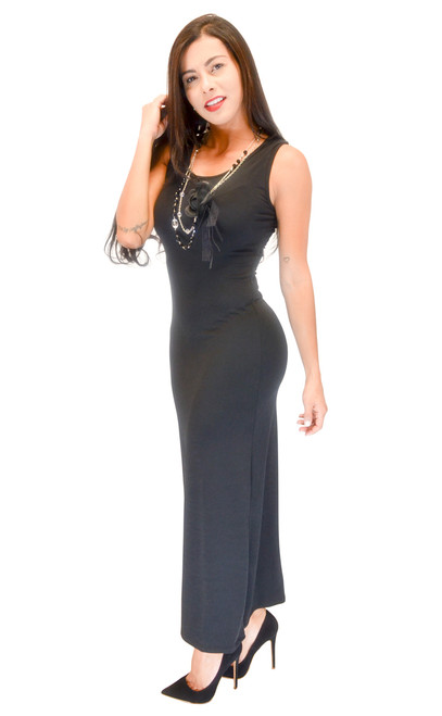 Dress - Sleeveless Maxi
