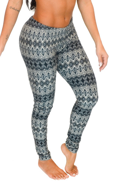Leggings - Aztec Print (Junior and Junior Plus Sizes)