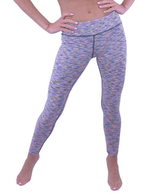 VF-Sport Long Workout Tights - Nylon, (Misses and Misses Plus Sizes)