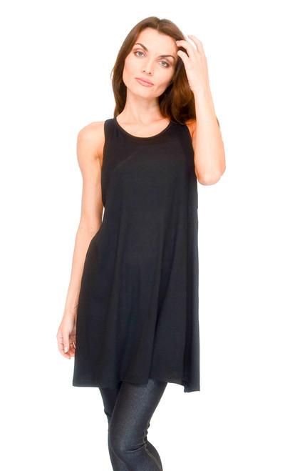 Vivian's Fashions Top - A-Flare Top, Sleeveless