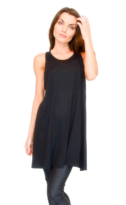 Top - A-Flare Top, Sleeveless