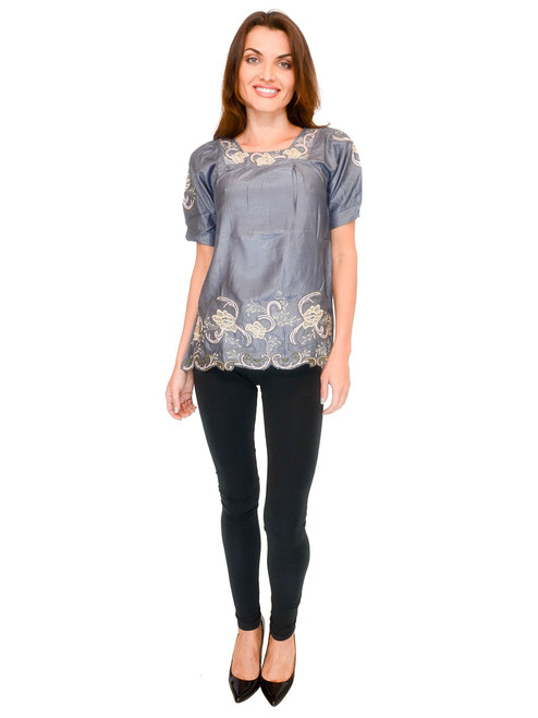 Top - Embroidered Blouse