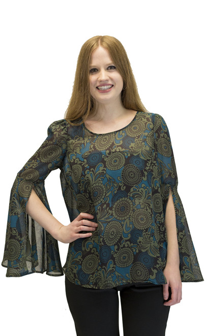 Top - Bell Sleeves Tunic