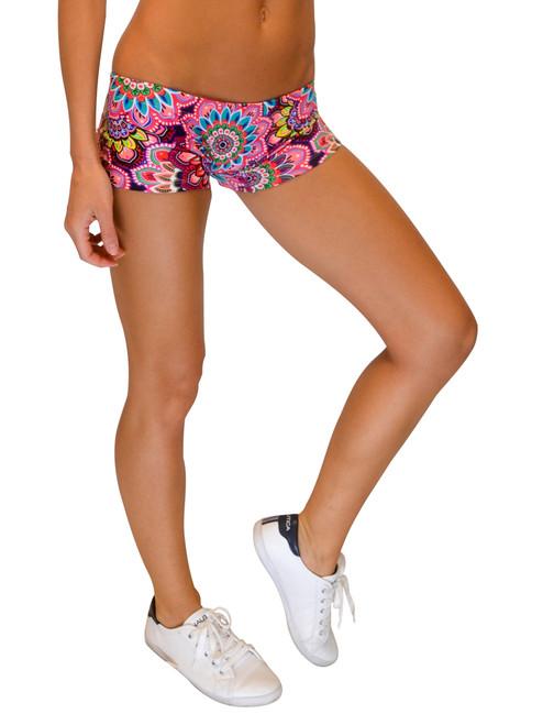 VF-Sport - Bikini Bottom Boyshorts, Floral Print