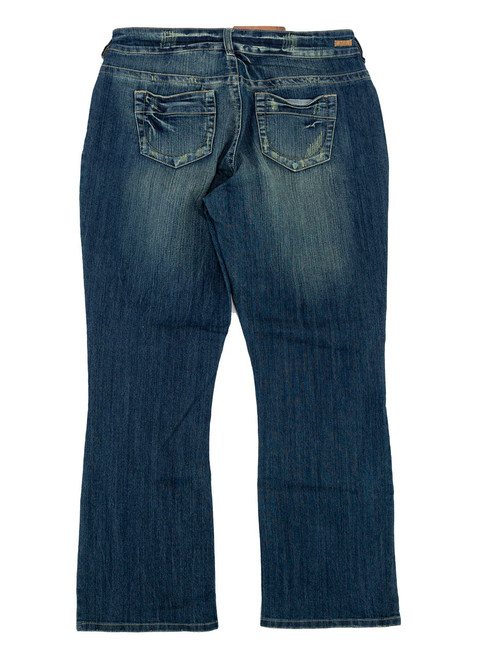 Jeans - Ripped Style, Women Plus Size