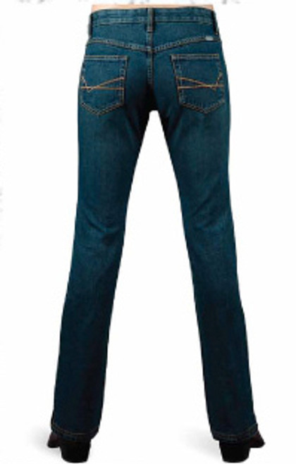 Lawman Jeans - Savannah, Med Wash/Woven