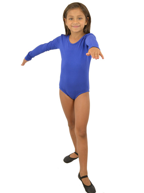 Vivian's Fashions Dancewear - Girls Long Sleeves leotard