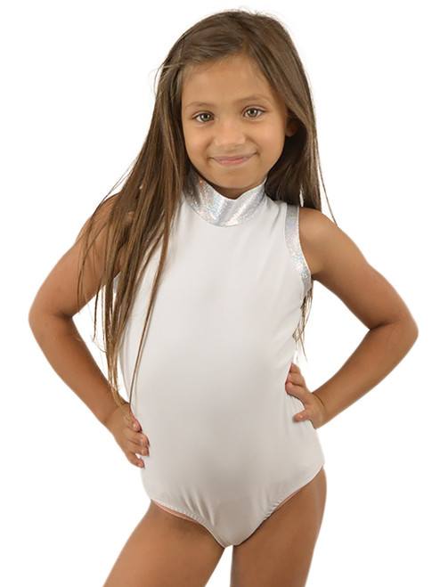 Vivian's Fashions Dancewear - Girls Glitter Sleeveless leotard