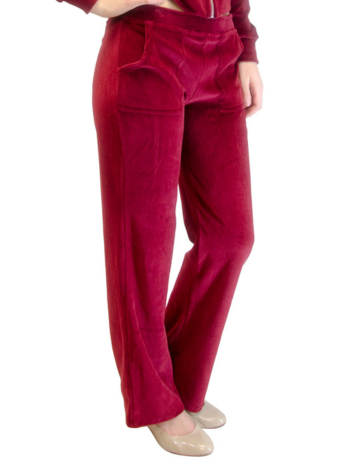 Long Velour Pants