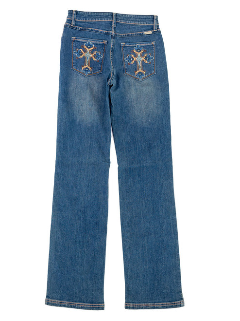 Lawman Jeans - Medium Wash. Woven