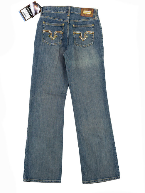 Lawman Jeans - Medium Wash. Woven Lawman-006