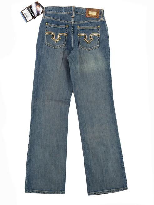 Lawman Jeans - Studded Legacy Western Jeans (Size 7 x 34L)