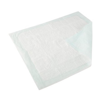 Underpad Wings TM Plus 30 X 36 Inch Disposable Fluff / Polymer Heavy Absorbency