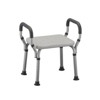 Shower Chair with Arms - No Back