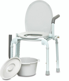 Drop Arm Commode