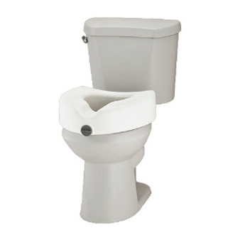 "5"" Elevated Toilet Seat without Arms"