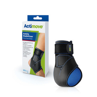 Ankle Stabilizer with Criss Cross Straps