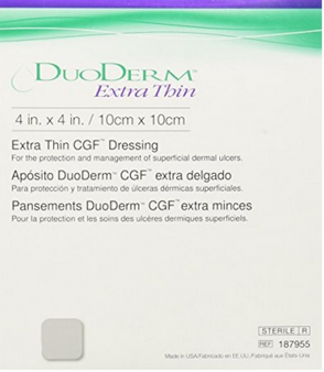 Duoderm Extra Thin Hydrocolloid Dressing