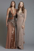 Beaded Sequin Halter Dress (SKU184)