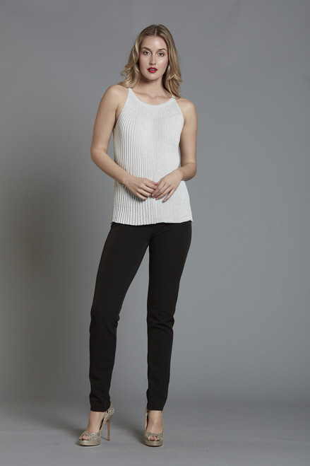 Lurex Pleated Tank