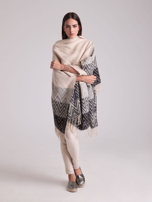 Chevron Knitted Jacquard